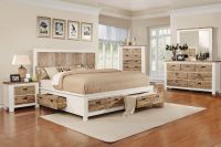 "Western 5-Piece King Bedroom Set with 32"" LED-TV at ..."