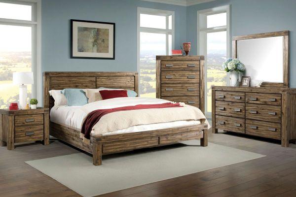 Joplin 5-piece King Bedroom Set Gardner-white