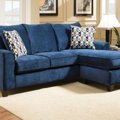 Customize Your Sectional Sofa How To Replace Serpentine Springs Elizabeth In Blue With Moveable Chaise At Gardner-white