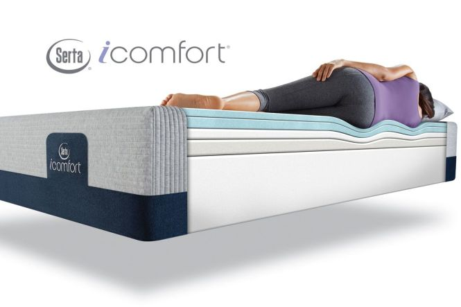 Serta Icomfort Blue 300 Xt Firm King Mattress From Gardner White Furniture