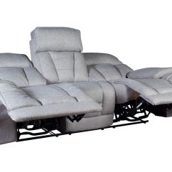 Grey Power Reclining Sofa Fold Out Chair Bed Dawson At Gardner White Share