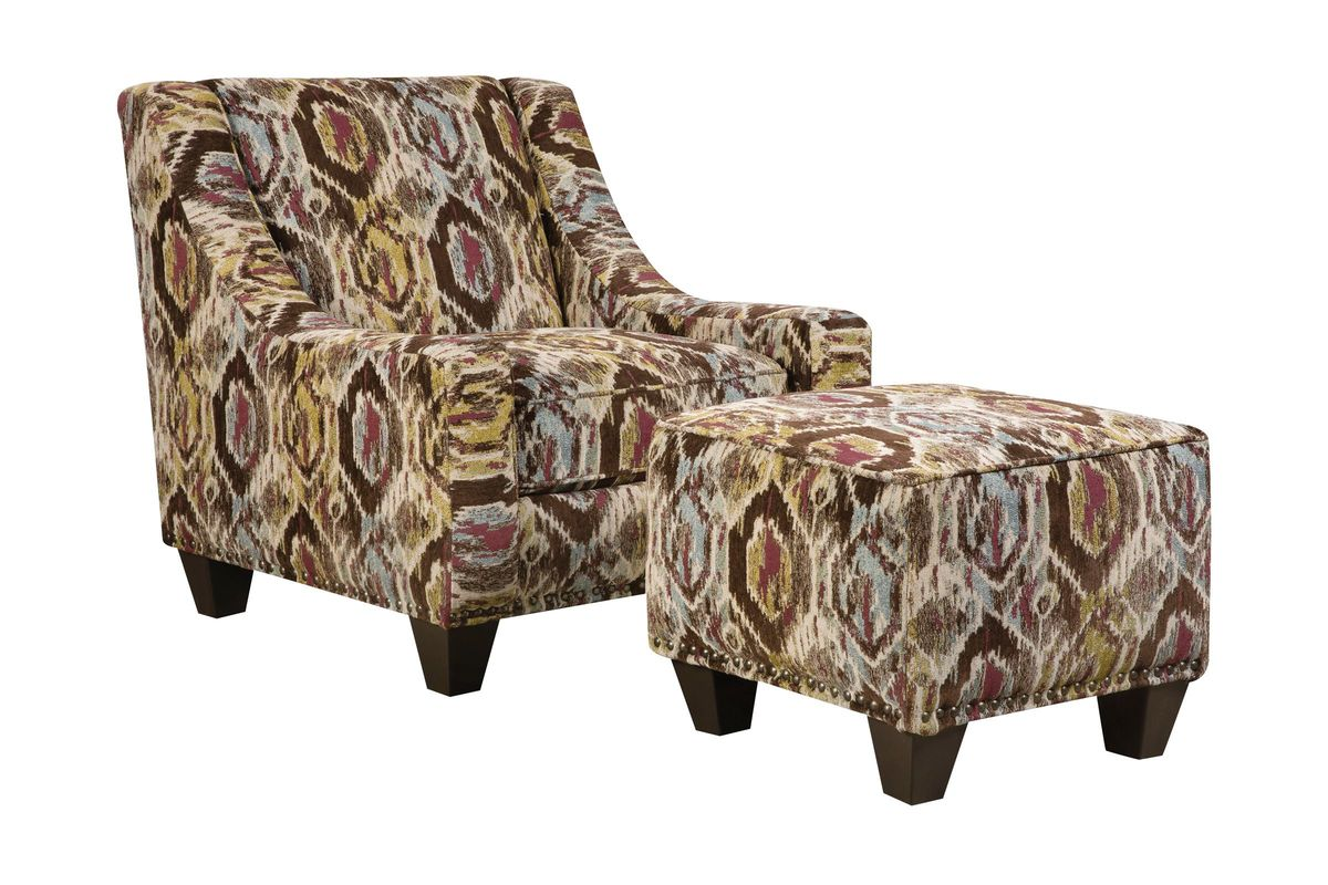 brown accent chair with ottoman office lower back support floor sample jute in the waterford outlet add to favorites