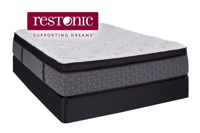Restonic Dublin Ultra Eurotop King Mattress From Gardner White Furniture