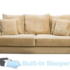 Galileo Cream Microfiber Queen Sleeper Sofa Cheap Brown Leather Beds Microsuede Www Redglobalmx Org Cooper At Gardner White