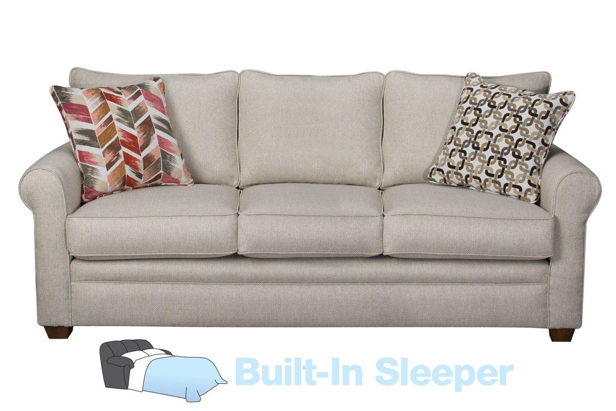 beige sleeper sofa gunstige bettsofas romero at gardner white