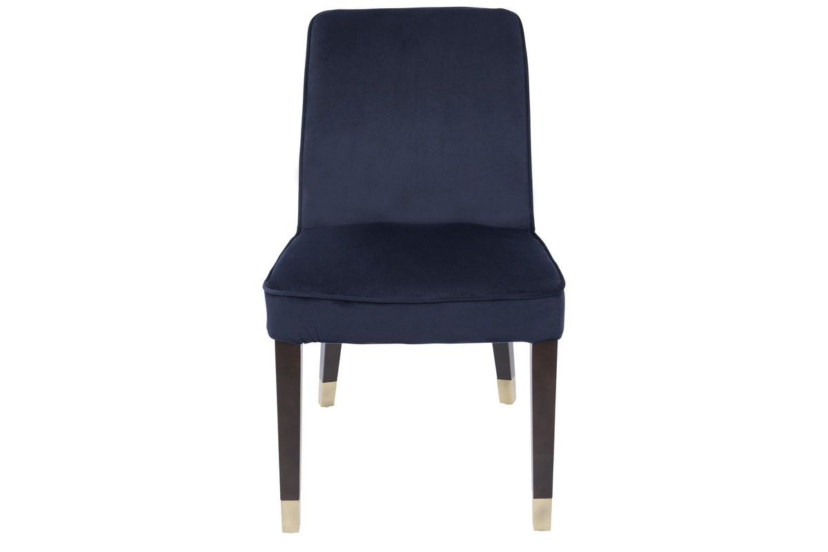 navy blue dining chairs set of 2 jazzy power zora contemporary in