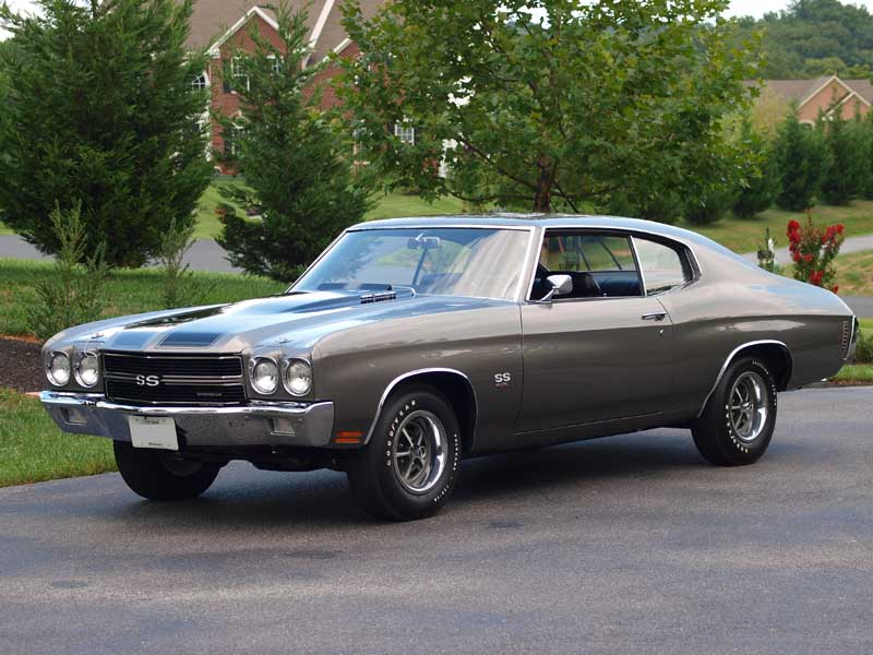 1970 chevelle ss exhaust muscle car