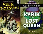 Kyrik and the lost queen gardner f fox sword and sorcery kurt brugel