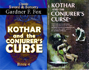 kothar and the conjurer's curse gardner f fox sword and sorcery kurt brugel