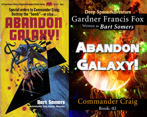Abandon Galaxy! commander craig gardner francis fox adventure library ebook paperback novel kurt brugel