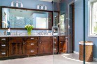 Elegant Master Bathroom  Gardner/Fox Associates