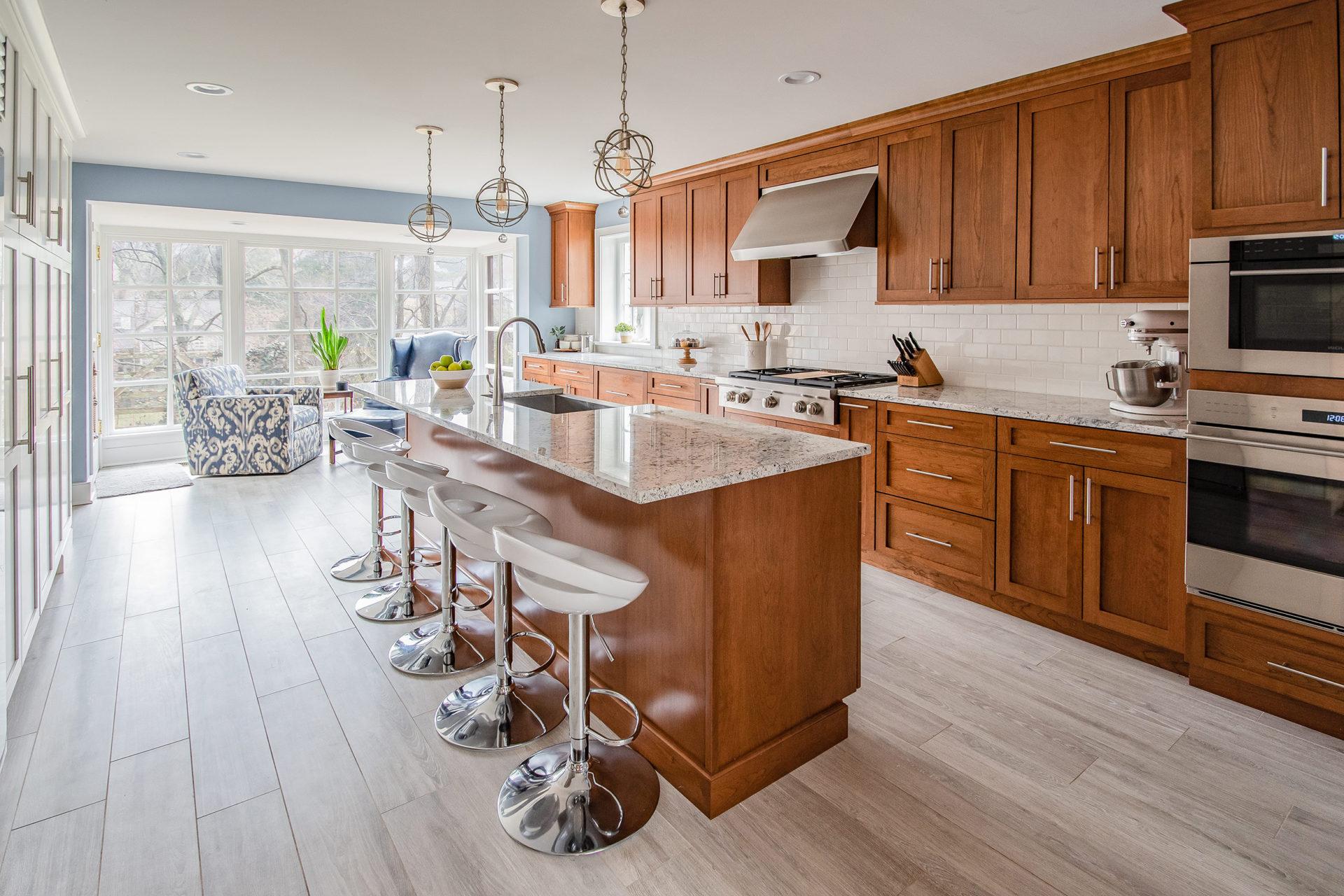 Mid Century Modern Kitchen Renovation Gardner Fox Associates