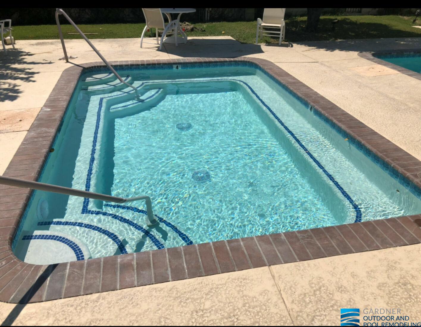 pool tiles renovation in california