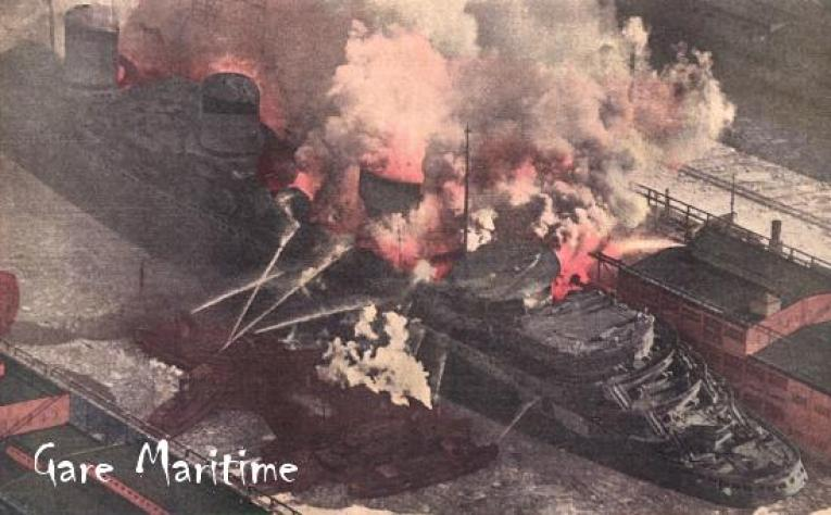 Tinted view of the fire 1942 (1)