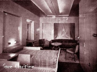 First Class Cabin with Terrace