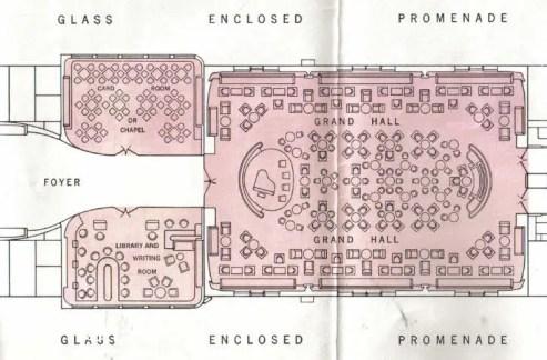 DP grand hall prewar