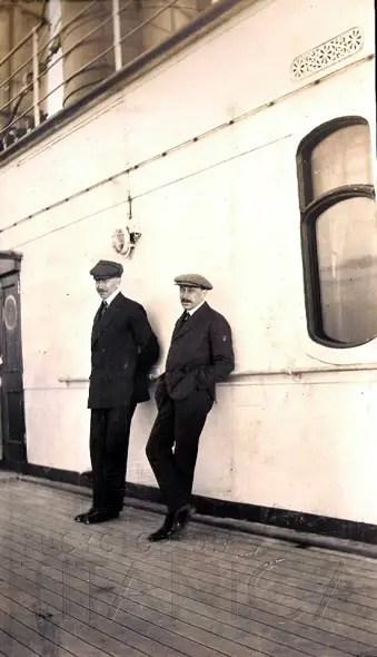 Lusitania Deck