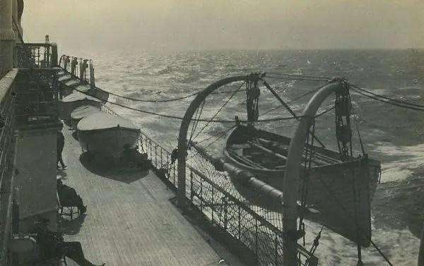 Lusitania Port Boats