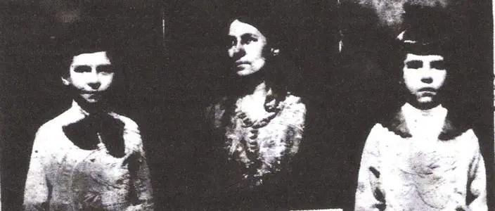 Sarah Hodges and Children