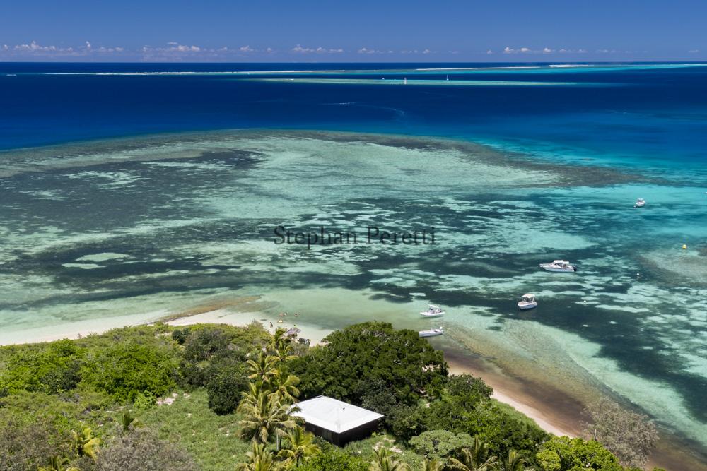 Phare Amédée, vue du plus grand lagon du monde, Nouvelle-Calédonie