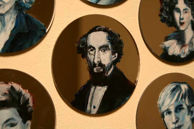 Charles Dickens, Jewel Net of Indra, Indra's Net, Gareth Bate