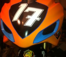 The front of the GSXR