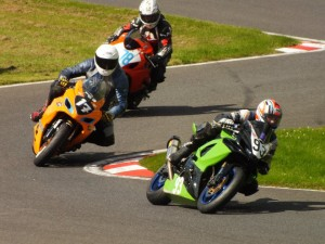 Cadwell Chicane Bottom Of The Mountain, Not quiet BSB or MotoGP level yet