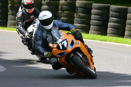 Into Barn Cadwell Track Day at Track Day Rider Bash 2012