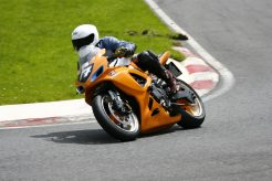 Into The Chicane At Cadwell