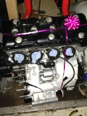 The New GSXR Engine