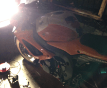 GSXR Repair In the Dark