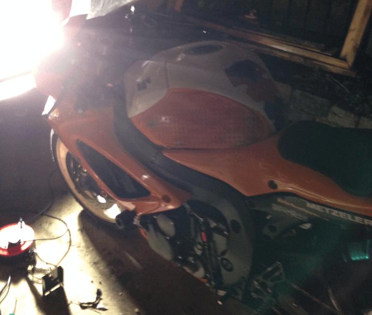 GSXR Repair In the Dark