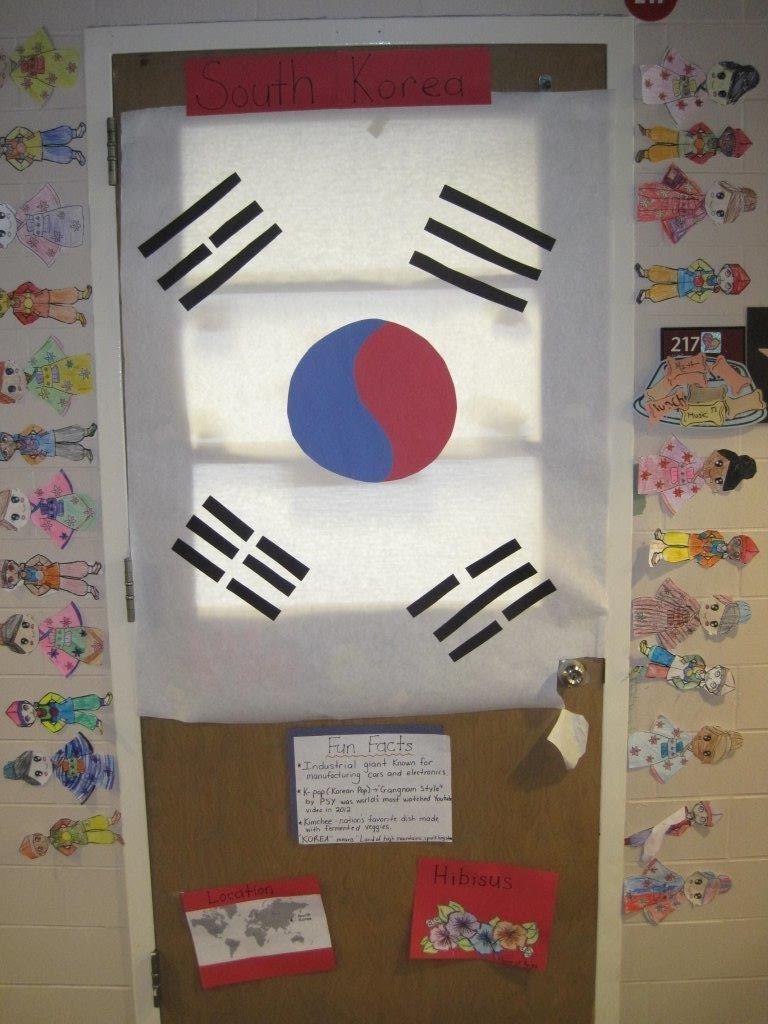 Olympic Door Decorating Contest 2016