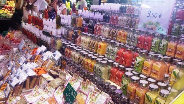 Sais aromatizados e saborizados e temperos especiais, difícil escolher qual levar :D. Crédito de imagem Surian Dupont