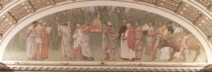 Peace Mural, Library of Congress, Washington, D.C.
