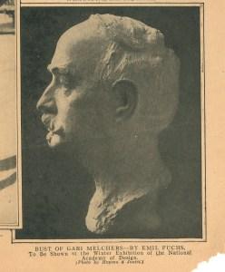 Emil Fuchs Bust of GM 1916 smithsonian