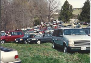 1992 Egg Hunt  cars