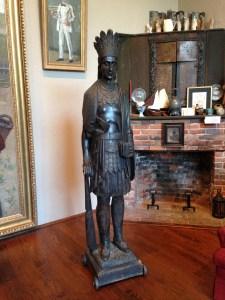 Julius Melchers' 'Captain Jack,' now on display at Gari Melchers Home & Studio at Belmont
