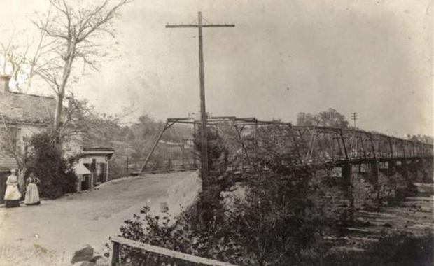 Falmouth Bridge circa 1910