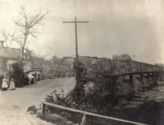 Falmouth Bridge circa 1910