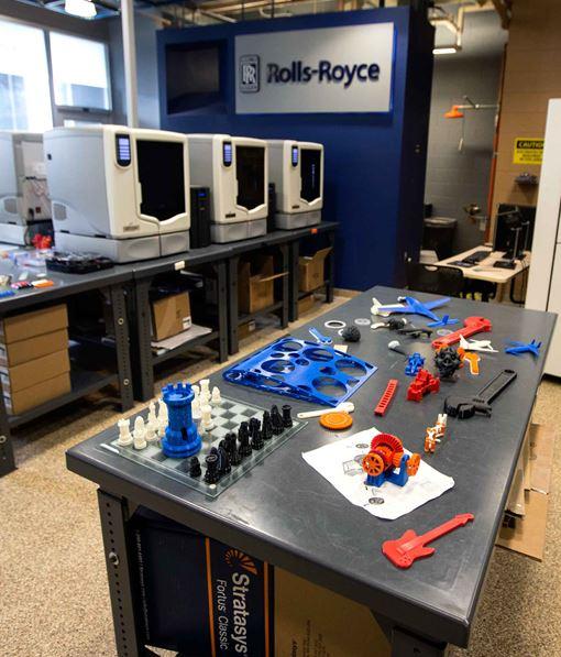 The University of Virginia's Rapid Prototyping Lab