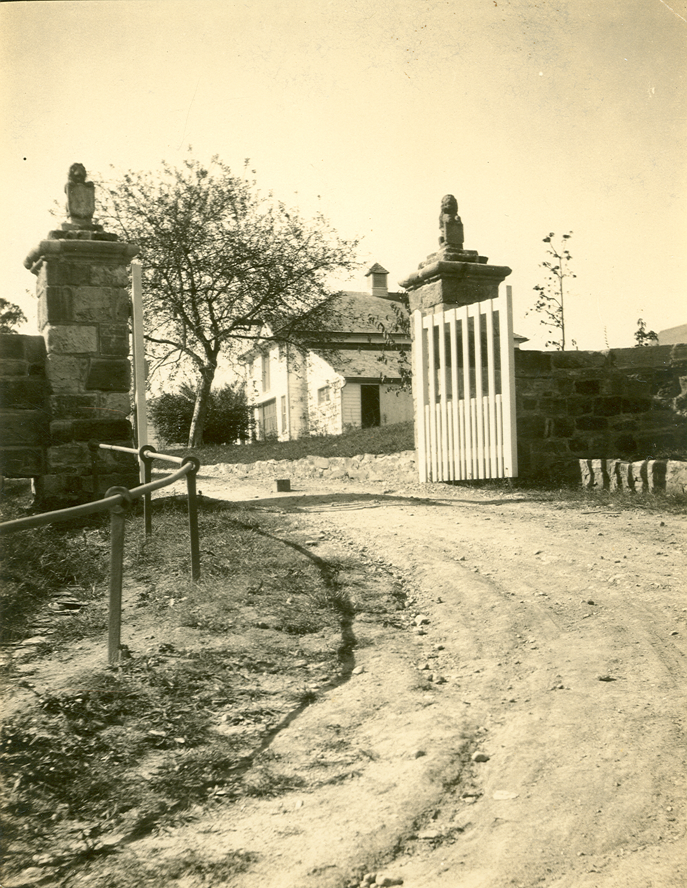 Gate circa 1920