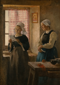 The Letter, 1882, by Gari Melchers, National Gallery of Art
