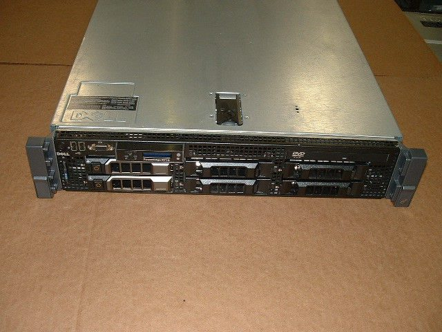 Dell PowerEdge R610 II Virtualization Server 2x 2.66GHz X5650 48GB 2x 146GB H700