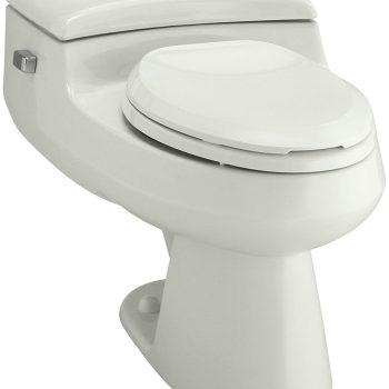 Kohler San Raphael Pressure Lite 1.0 GPF Elongated Toilet in Dune K-3597-NY