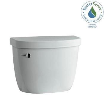 KOHLER Cimarron 1.28 GPF Single Flush Toilet Tank Only in Ice Grey K-4167-95