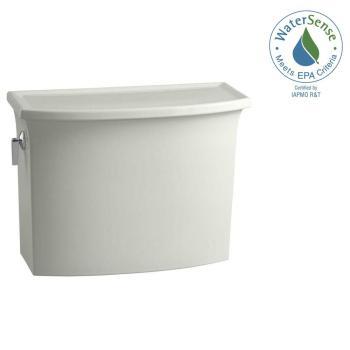 KOHLER Archer 1.28 GPF Single Flush Toilet Tank Only in Dune K-4431-NY