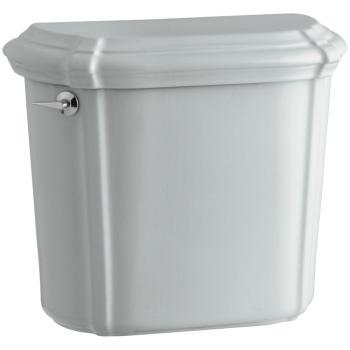 KOHLER Portrait 1.6 GPF Single Flush Toilet Tank Only in Ice Grey K-4607-95
