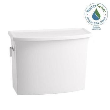 KOHLER Archer 1.28GPF Single Flush Toilet Tank with AquaPiston in White K-4431-0