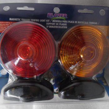 Blazer Magnetic Trailer Towing Light Set C6300 // 20-3949-8